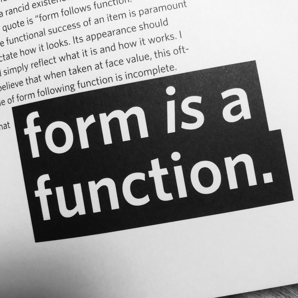 Screenshot of About Design: Insights and Provocations for Graphic Design Enthusiasts by Gordon Salchow